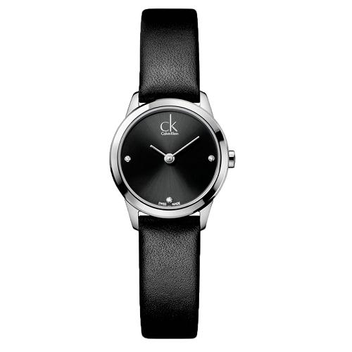 瑞士 Calvin Klein 經典時尚晶鑽錶 (K3M231CS)
