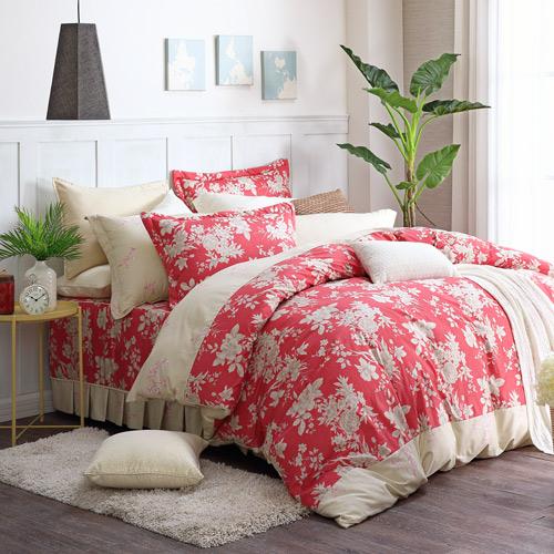 200織紗精梳純棉 七件式鋪棉床罩組(雙人)