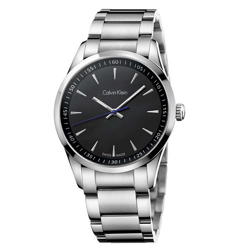 瑞士 Calvin Klein 時尚經典藍指針男錶 (K5A31141)