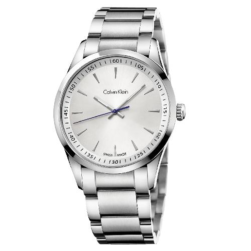瑞士 Calvin Klein 時尚經典藍指針男錶 (K5A31146)