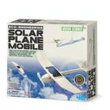【4M 創意 DIY】00-03376 日光飛行機 Solar Plane Mobile
