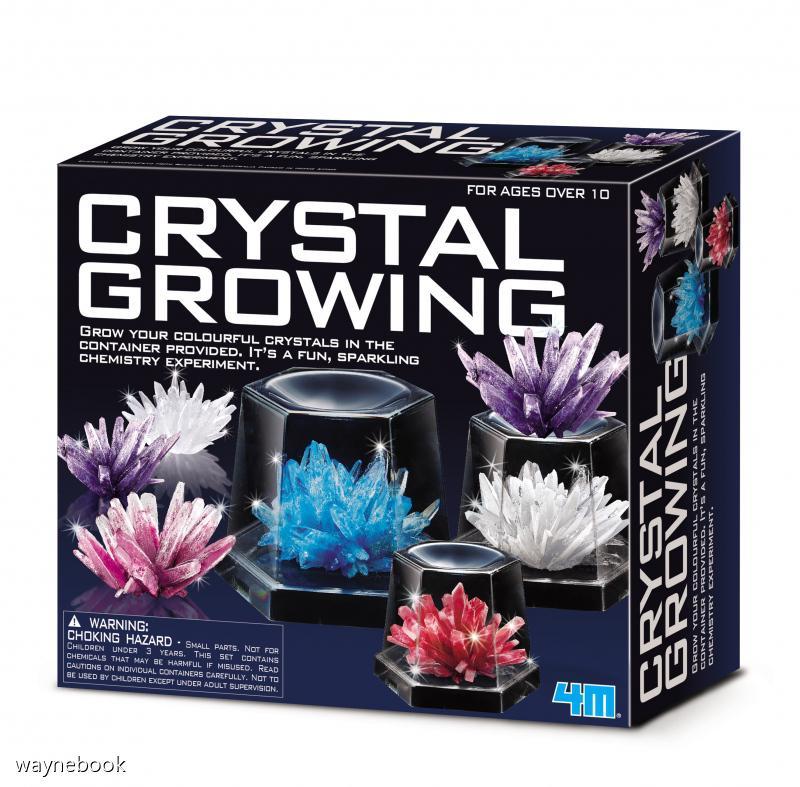 【4M 創意 DIY】00-03915 神奇水晶體豪華組 Crystal Growing Experimental Kit