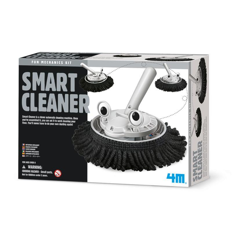 【4M 創意 DIY】00-03380 掃地機器人 Smart Cleaner
