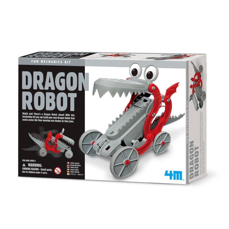 【4M 創意 DIY】00-03381 快跑機械龍 Dragon Robot