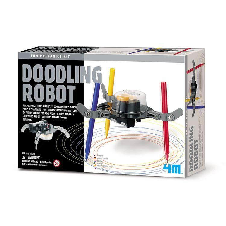 【4M 創意 DIY】00-03280 Doodling Robot 塗鴉機器人
