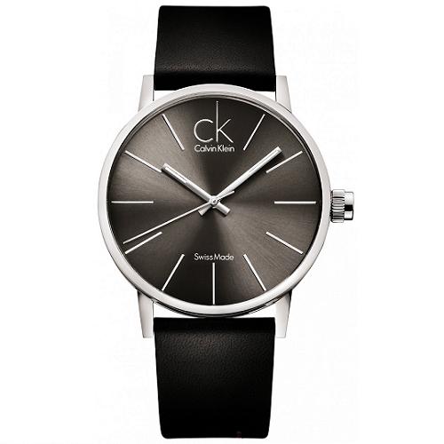 瑞士 Calvin Klein 時尚風格大錶徑流線中性錶 (K7621107)