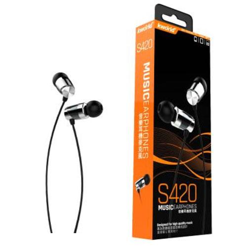 廣寰音樂耳機麥克風S420