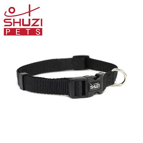 SHUZI™ 愛犬守護項圈 黑- 美國製造