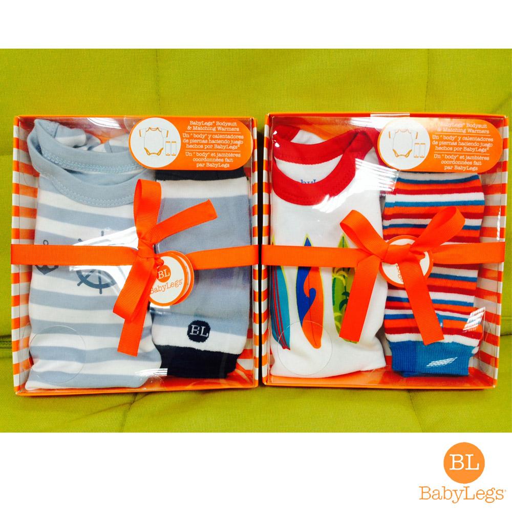 美國 BabyLegs 新生兒有機棉禮盒組 (4種款式)