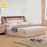ASSARI-本田房間組二件(床箱+後掀床)雙人5尺
