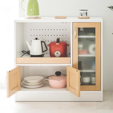 透氣防潮設計 電器收納廚房櫃