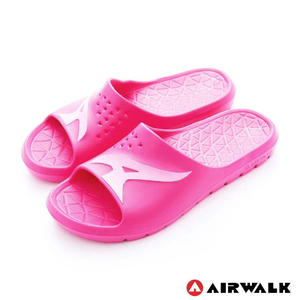 AIRWALK - AB拖 For your JUMP EVA拖鞋-中紅