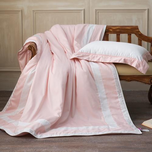 IN HOUSE-SLEEPING BEAUTY-膠原蛋白紗-涼被(粉色-150x195)-單人
