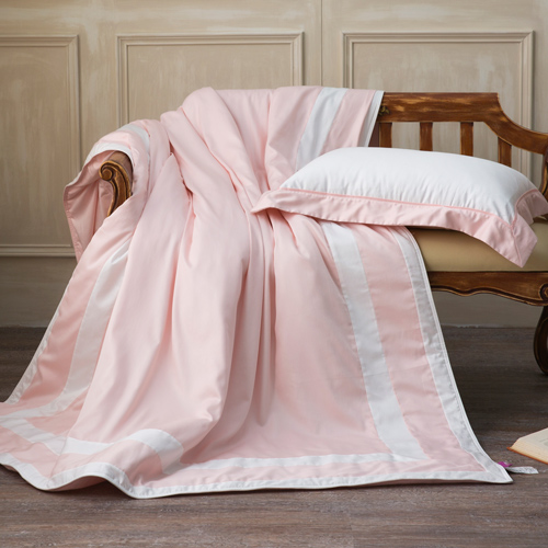 IN HOUSE-SLEEPING BEAUTY-膠原蛋白紗-涼被(粉色-180x210cm)-雙人