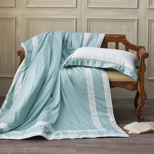 IN HOUSE-SLEEPING BEAUTY-膠原蛋白紗-涼被(綠色-150x195)-單人