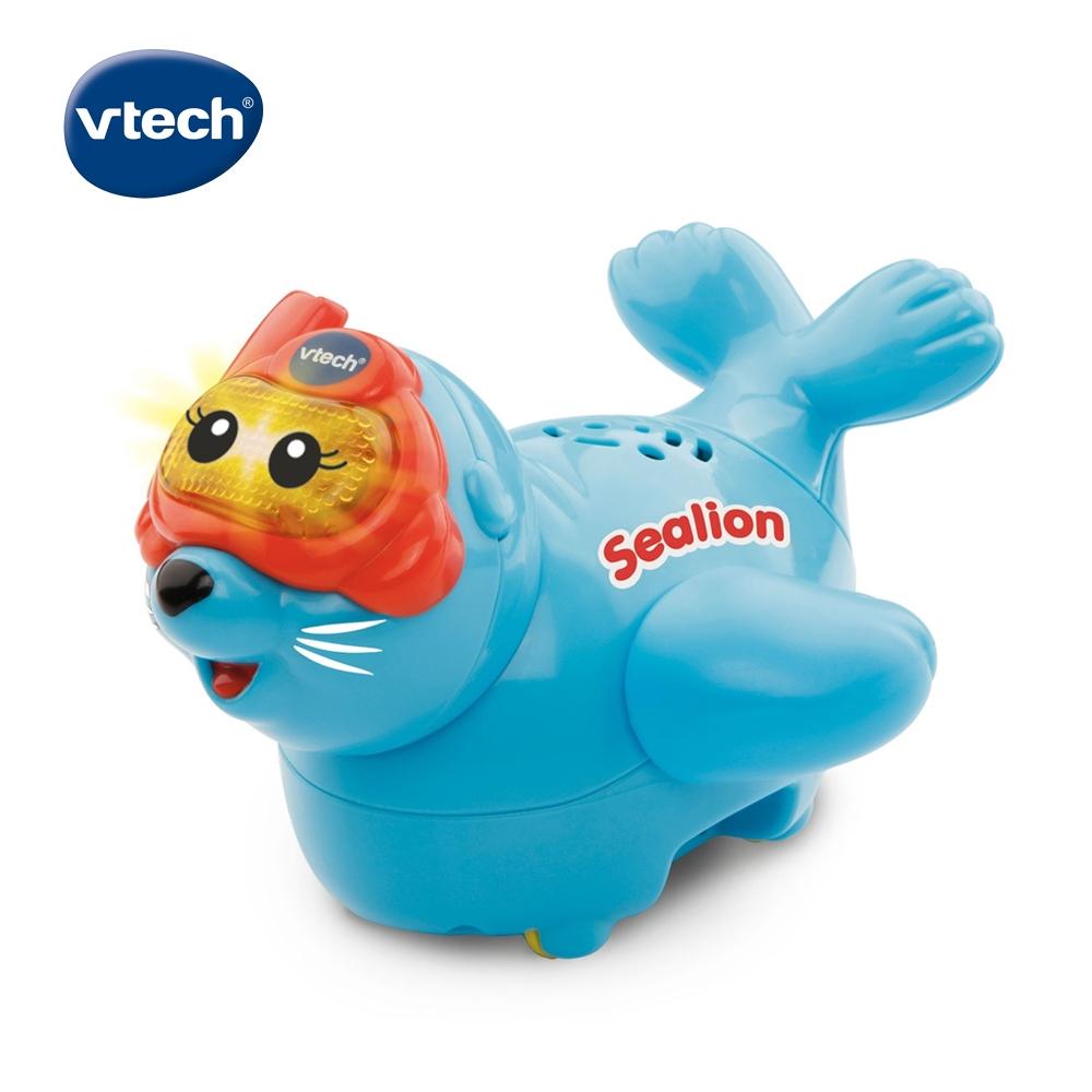 【Vtech】2合1嘟嘟戲水洗澡玩具系列-搖擺海獅