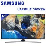 【SAMSUNG三星】 43吋 LED 聯網4K電視 UA43MU6100 / UA43MU6100WXZW