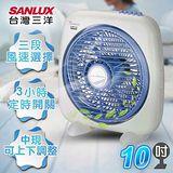 【SANLUX台灣三洋】10吋按鍵式箱扇/SBF-1000A