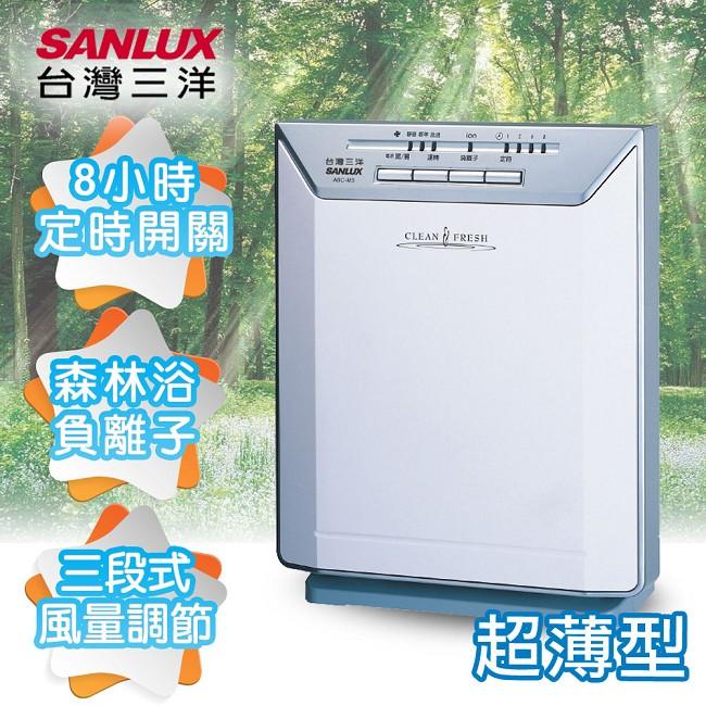【SANLUX台灣三洋】負離子超薄型空氣清淨機/ABC-M5
