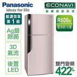 【國際牌Panasonic】 ECONAVI 485L變頻雙門冰箱。紫羅蘭 (NR-B486GV/NR-B486GV-P)