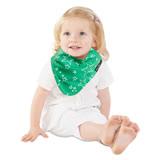 【Mum 2 Mum】雙面時尚造型口水巾圍兜-閃亮星/萊姆綠
