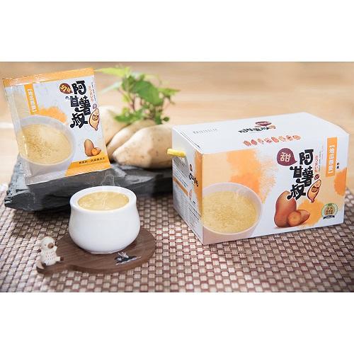 【阿甘薯叔】地瓜沖泡系列任選6盒(地瓜燕麥、黃金地瓜餐、紫心地瓜米麩)(免運)