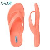 【OkaB】ELLE簡約夾腳拖鞋 粉色(K9835-LPI)