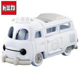 〔小禮堂〕Baymax大英雄天團 杯麵 TOMICA小汽車《白.造型麵包車》經典造型值得收藏