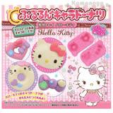 〔小禮堂〕Hello Kitty 甜甜圈壓模《洋裝.多寶石.粉盒裝》可愛甜甜圈輕鬆做