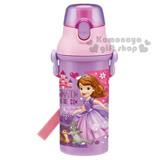 下殺↘399〔小禮堂〕蘇菲亞公主 日製直飲式水壺《粉紫.站姿.兔子.松鼠》
