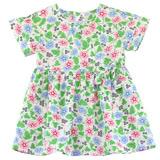 【愛的世界】LOVEWORLD 牽牛花系列 純棉短袖拉鍊洋裝/1~3歲-台灣製-
