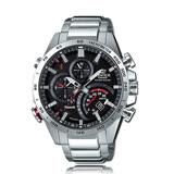 CASIO手錶專賣店 CASIO EDIFICE_EQB-501XD-1A_礦物玻璃_碼錶_不鏽鋼錶帶_男錶