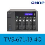 QNAP 威聯通 TVS-671-i3-4G 6-Bay NAS
