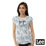 Lee 圓領短袖101+T恤-女-白