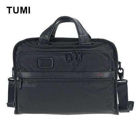 【TUMI】Alpha 2  男士商務經典15吋公事包