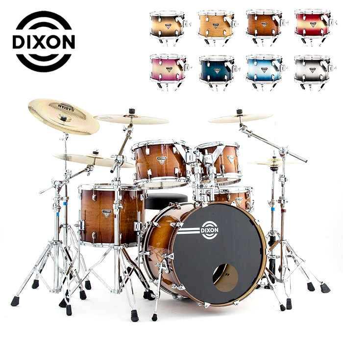 ★DIXON★北美楓木Artisan Standard 懸吊式5PCS鼓組~(含支架/銅鈸/踏板/鼓椅)