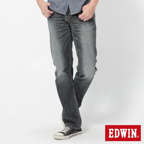 EDWIN NEW 503直筒褲-男-拔洗藍
