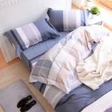 鴻宇HongYew 《薩德克》純棉 雙人加大床包枕套組