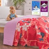 J-bedtime【日式鸚櫻】透氣防螨抗菌四季涼被5X6尺(使用3M吸濕排汗藥劑)