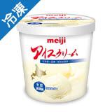 明治北海道牛奶冰淇淋690G /桶