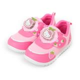 (中小童) HELLO KITTY 草莓電燈運動鞋 桃粉 童鞋 鞋全家福