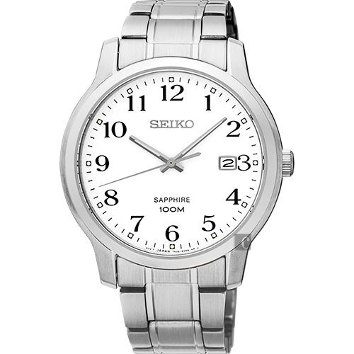 SEIKO精工 CS系列城市戀人手錶-白/ 41mm 7N42-0GE0X(SGEH67P1)