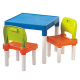 【新奇可愛】活力兒童桌椅組(1桌2椅)-2入組