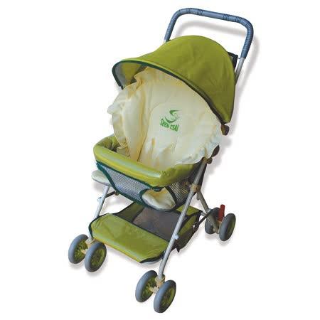 【優生】全罩式輕便推車ST-3721A(咖色款)兒童安全推車/幼兒推車-買就送優生嬰兒車用蚊帳 -friDay購物