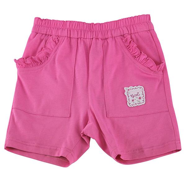 【愛的世界】MYBABY 四月雪系列 純棉緊身五分褲/2~4歲-台灣製-