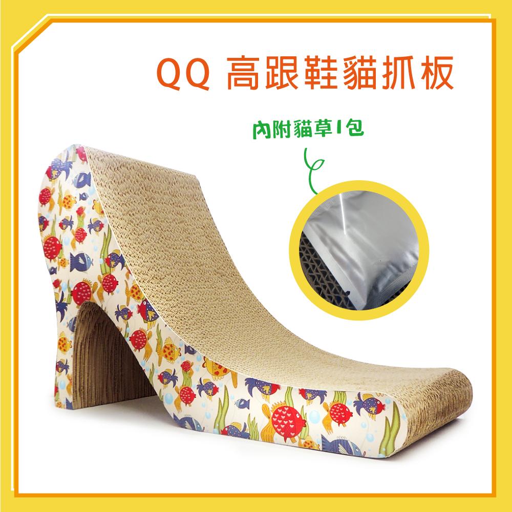 QQ 高跟鞋貓抓板(QQ50103) (I002H21)