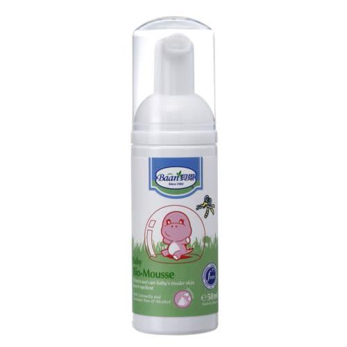 貝恩Baan 嬰兒防蚊慕斯 50ml/瓶◆德瑞健康家◆