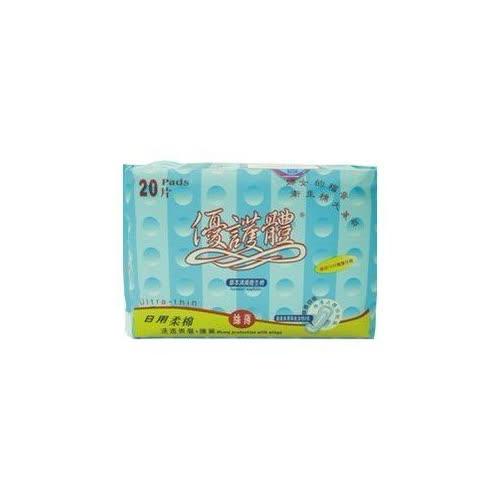 優護體草本衛生棉 日用 20片/包◆德瑞健康家◆