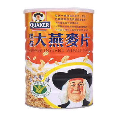 桂格大燕麥片 700g+100g/瓶◆德瑞健康家◆