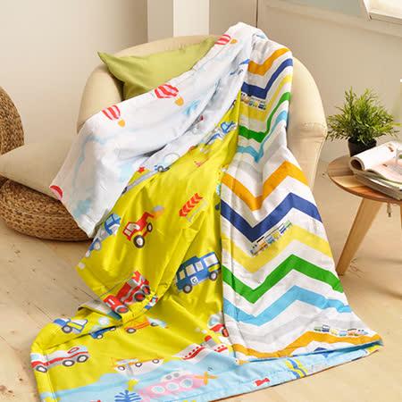 義大利Fancy Belle《玩具點點名》純棉吸濕透氣涼被(5x6.5尺)